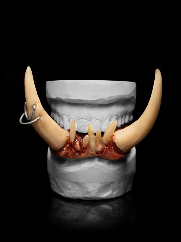Vampirzähne, Filmzähne, Effektzähne, SFX Zähne, SFX Teeth, Vampir fangs, fx teeth, Dentaleffekte, Zombiezähne